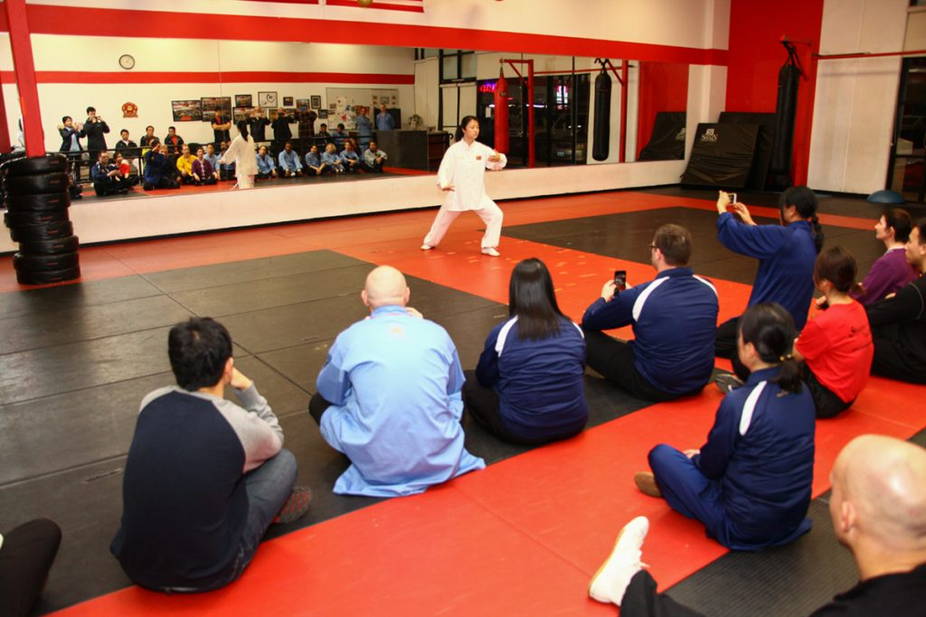 Shaolin Tai Chi Cultural Center | 5 Masters visit our School